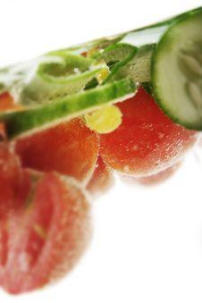 Free Boiling Veggies Stock Image - 1069961
