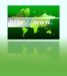 Internet Address Royalty Free Stock Photos