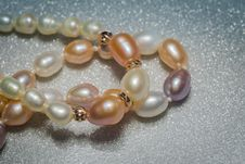 Free Fashion Pearl Bracelet Royalty Free Stock Photography - 106067747