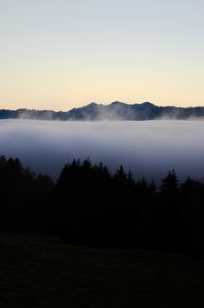 Free Sea Of Clouds Royalty Free Stock Images - 106174339