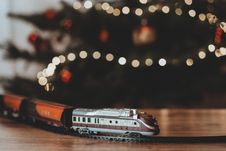 Free Shallow Focus Photography On Gray Train Plastic Toy Stock Image - 106363771