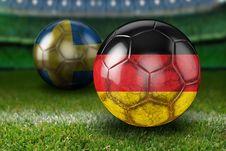 Free Football, Ball, Grass, Sports Equipment Royalty Free Stock Image - 106388876