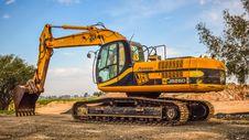 Free Construction Equipment, Bulldozer, Mode Of Transport, Vehicle Stock Image - 106388911