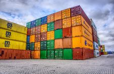 Free Shipping Container, Architecture, Commercial Building, Building Stock Photography - 106402352