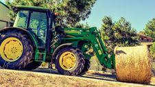 Free Tractor, Agricultural Machinery, Agriculture, Vehicle Royalty Free Stock Image - 106402426