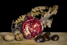 Free Still Life Photography, Still Life, Fruit, Pomegranate Royalty Free Stock Images - 106403079