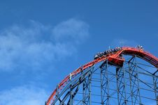 Free Amusement Ride, Amusement Park, Sky, Roller Coaster Stock Photos - 106403813