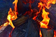 Free Fire, Flame, Heat, Campfire Stock Image - 106444281