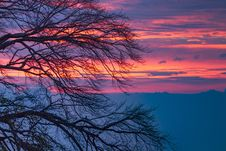 Free Sky, Red Sky At Morning, Afterglow, Sunrise Stock Photography - 106445152