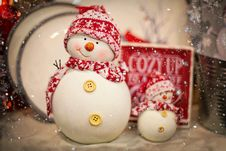 Free Snowman, Christmas Ornament, Christmas Decoration, Christmas Stock Photos - 106445163