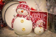Free Snowman, Christmas Ornament, Christmas Decoration, Christmas Stock Photos - 106445163