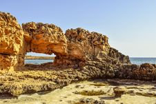 Free Rock, Sea, Sky, Coast Royalty Free Stock Images - 106445909