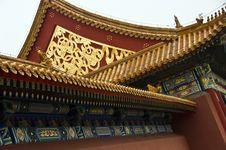 Free Forbidden City, Beijing, China Royalty Free Stock Photo - 10653395