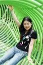 Free Korean Woman Royalty Free Stock Image - 1071526