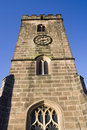 Free English Church Tower And Clock. Stock Image - 1073241