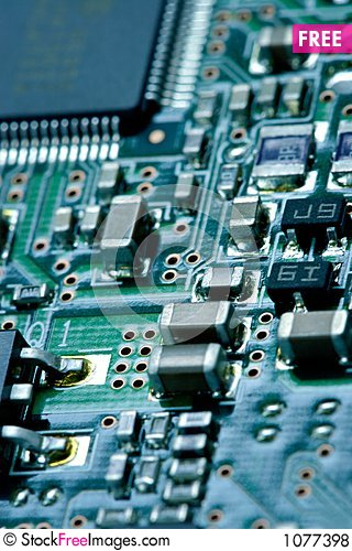 Computer plate background Stock Photo