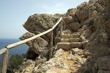 Free Stone Steps B Stock Image - 1070151