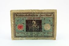 Free Old Currency Bill Stock Image - 1070581