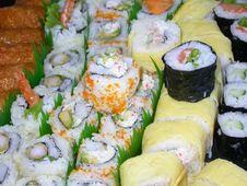 Free Sushi Platter Stock Photography - 1071082