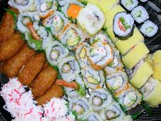 Free Sushi Platter Stock Photos - 1071103