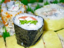 Free Sushi Platter Royalty Free Stock Image - 1071106
