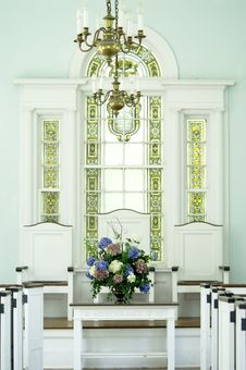 Free Church Interior Stock Images - 1071814
