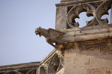Old Gargoyle Royalty Free Stock Photos