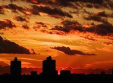Free Sunset [1] Royalty Free Stock Photo - 1072615