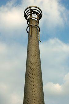Free Metal Lantern Royalty Free Stock Photo - 1074335