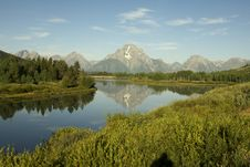 Free Oxbow Bend Royalty Free Stock Images - 1074479