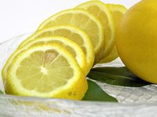 Free The Slices Lemons Stock Photo - 1075040