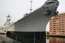 Free USS Wisconsin Royalty Free Stock Photo - 1075195