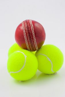 Free Cricket And Tennis Stock Images - 1075874