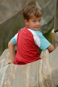 Free Young Boy Portrait Stock Photos - 1075983