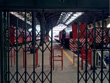 Free Classic Railway Station Royalty Free Stock Photography - 1076007