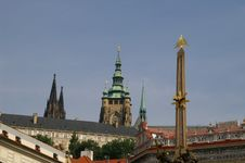 Free Prague Churches In The Castle Stock Photography - 1076052