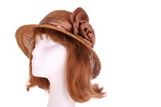 Ladies Hat Royalty Free Stock Photography