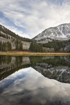 Free Scenic Mountain Lake,High Sierra Lake Royalty Free Stock Images - 1076139