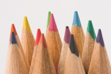Free Pencil Colors Stock Photos - 1076163