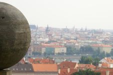 Free A View To Prague Royalty Free Stock Images - 1076199