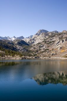 Free Scenic Mountain Lake,High Sierra Creek Stock Photography - 1076232