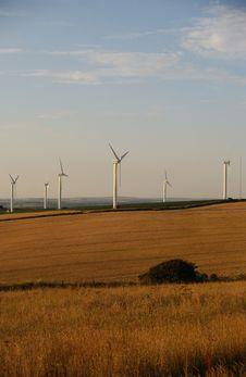 Free Wind Turbines Stock Images - 1077414