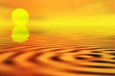Free Sunset Landscape Stock Photo - 1077900