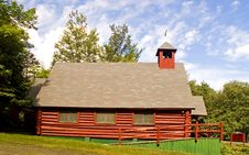 Free Log Church - 3 Stock Photos - 1079313