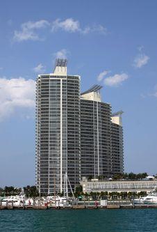 Free Miami Apartments Stock Image - 1079381
