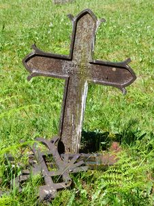 Free Cross, Grave, Grass, Headstone Royalty Free Stock Photos - 107020198