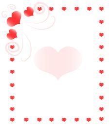 Free Heart Frame Royalty Free Stock Image - 10714756