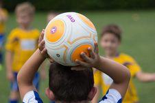 Free Sports, Yellow, Football, Player Stock Image - 107307011