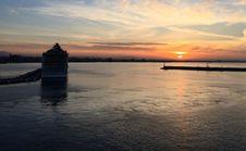 Free Horizon, Sky, Calm, Sunset Stock Photography - 107374442