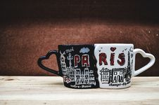 Free Cup, Coffee Cup, Font, Tableware Royalty Free Stock Photography - 107374757